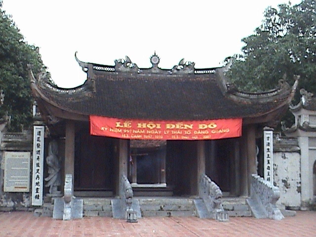 Khu lăng mộ và đền thờ các vị vua triều Lý
