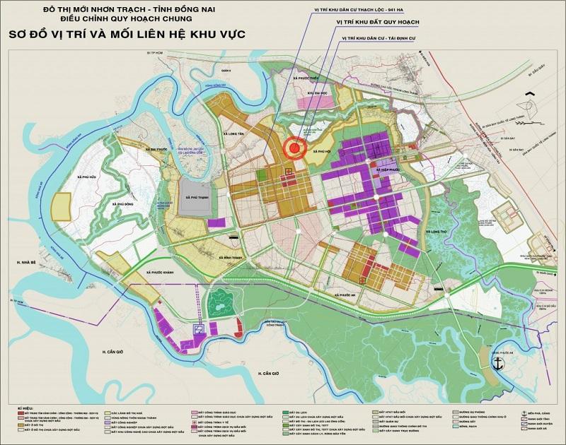 Bản đồ quy hoạch tỉnh Đồng Nai