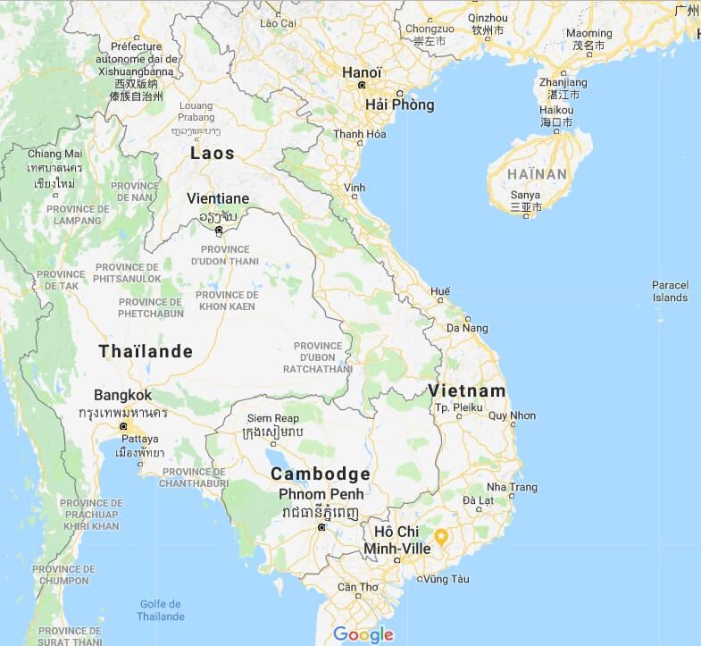 ban do viet nam tu google map